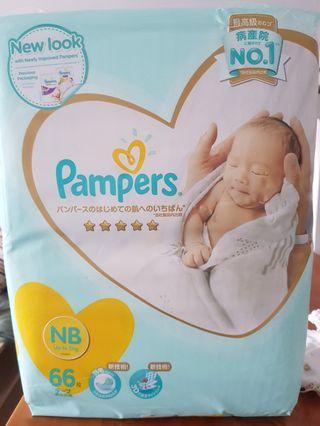 Pampers premium tape nb
