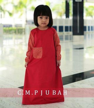 Girl's Jubah Trendy (Limited Design)