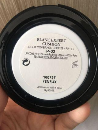 Lancome BB cushion Blanc Expert