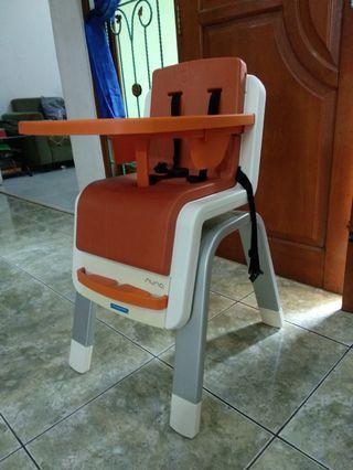 High chair nuna zaaz highchair kursi makan anak bayi cocolatte joie mothercare