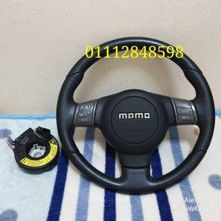 MOMO Euro Steering Complete Original from Japan Like New