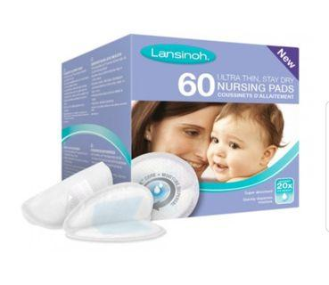 Lansinoh Disposable Nursing Pads (60 pcs) UK Version