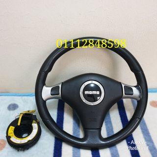 MOMO +- Button Steering Original from Japan Complete