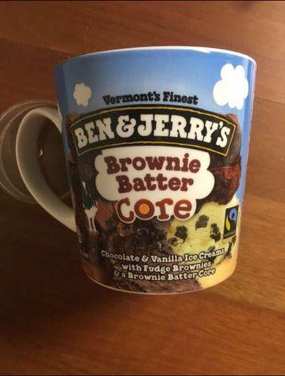 Ben & Jerry's Chocolate and Vanilla with Brownie Batter Core