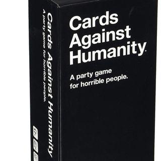 Cards Against Humanity: A party game for horrible people:)