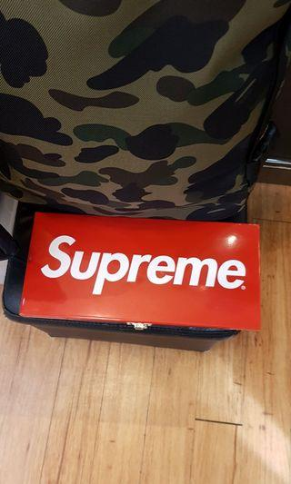 Rare Supreme SS17 Large Metal Box