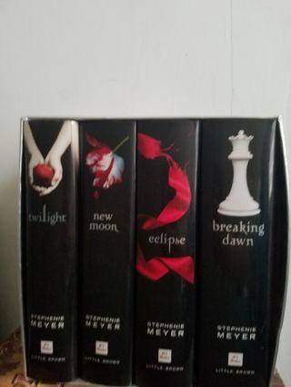 Twilight 英文書 一set