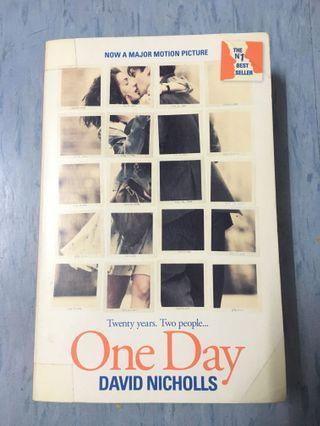 One day, by DAVID Nicholls