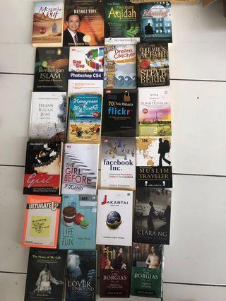 Berbagai jenis buku