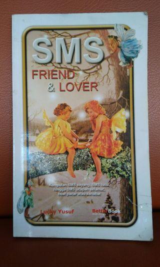 Buku sms friend & lover. Murah