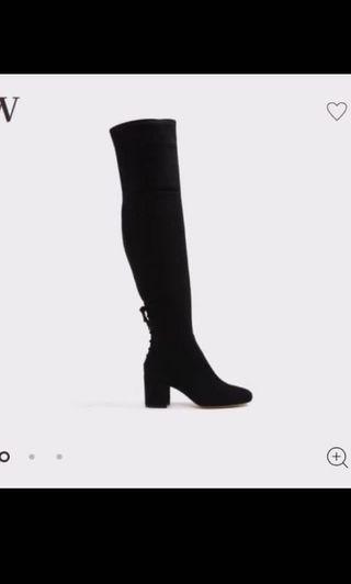 Aldo Over the Knee Boots - 8.5