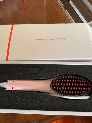 Hair Straightener Brush
