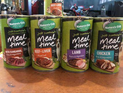 🚚 Nature's Gift canned food 4 for $12