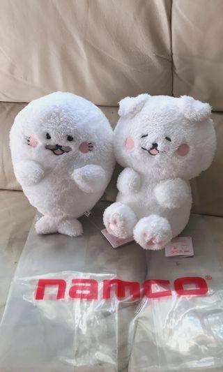 日本 可愛小狗及海獅公仔一對 生日/聖誕/交換禮物首選