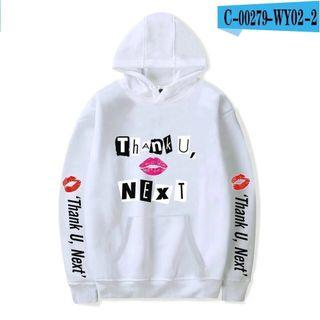 Thank U Next Ariana Grande Hoodie Sweatshirt