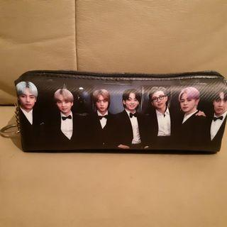 BTS Pencil Case **New & Nicely Double-Sided Printed**