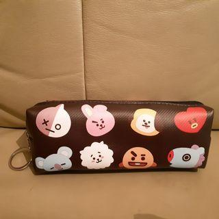 BT21 Pencil Case **New & Nicely Double-Sided Printed**