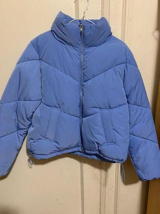 Light Blue Puffer Jacket (H&M)