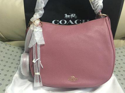 🚚 Coach pink bag Authentic