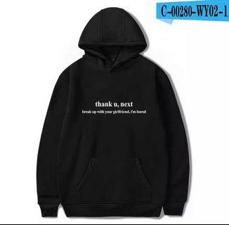 Thank U Next and Break Up With Your Girlfriend I'm Bored Ariana Grande Hoodie