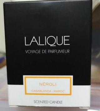 Lalique scented candle ( Neroli )