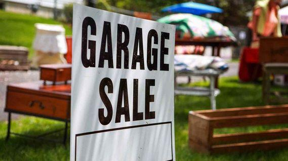 Garage Sale 5 May - 31 May
