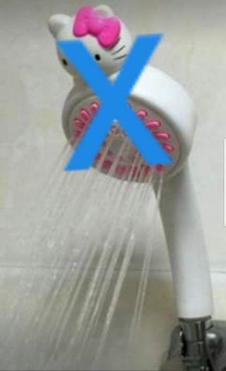 Doraemon shower head