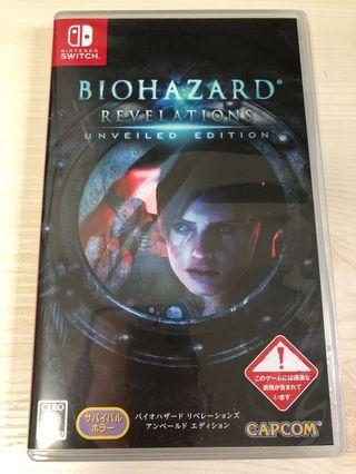 Switch Biohazard revelations