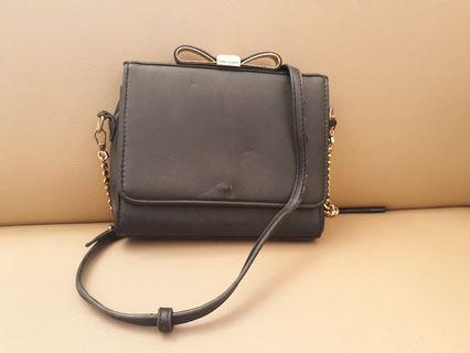 Black Ribbon Slingbag