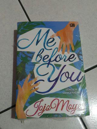 Novel Me Before You karya Jojo Moyes
