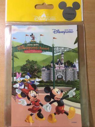 🇭🇰香港迪士尼明信片三張組