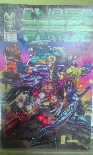 Cyber Force #1-#4