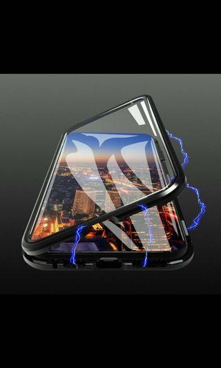 🚚 Brand new Remax IPhone 9D glass magnet casing,for
