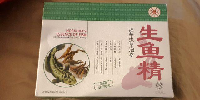 Hockhua's Essence of Fish with Cordyceps & American Ginseng