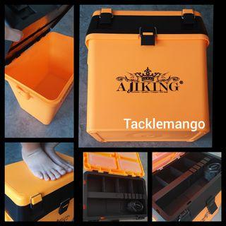BN AJIKING MULTI COMPARTMENT TACKLE BOX (LARGE) SINGLE BUY $30 BUDDY BUY $58
