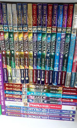 🚚 Beast Quest books (selectable titles)