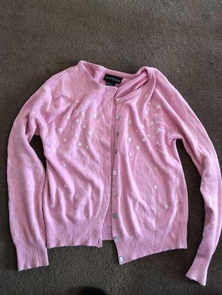 Pink soft cardigan