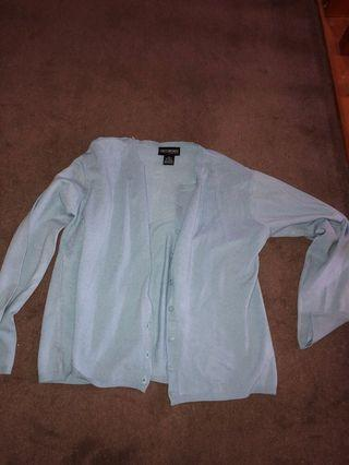 Light grey blue cardigan