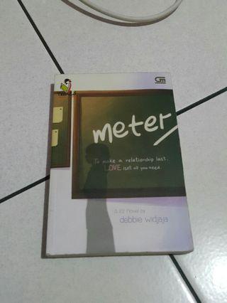 Novel Meter/Second karya Debbie Widjaja