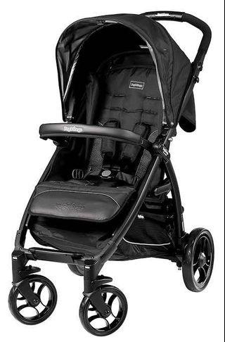 High-Quality Peg Perego Stroller with Liner and Cup Holder