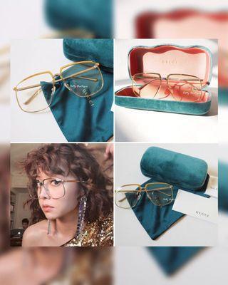Gucci平光眼鏡