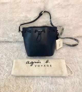NEW Agnes B Alice Bucket Bag