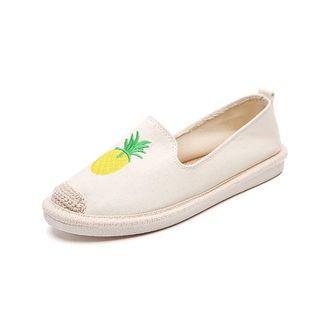 🚚 漁夫鞋 草編鞋 夏天 Zara soludes Chanel 火鶴 鳳梨 娃娃鞋 包鞋 編織鞋
