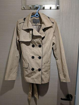 F21 Belted Trench Coat