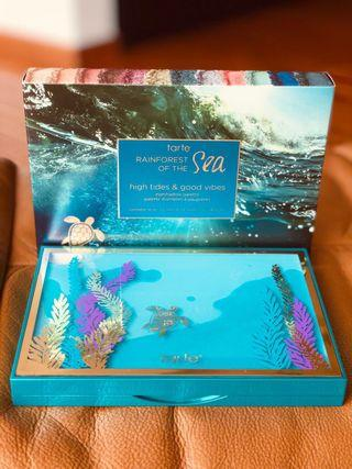 Tarte Rainforest of the Sea high tides & good vibes eyeshadow palette