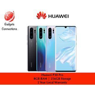 Huawei P30 Pro ! Breathing Crystal , Aurora & Black !!