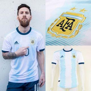 Argentina 2019 Home Kit Fan and Player Issue