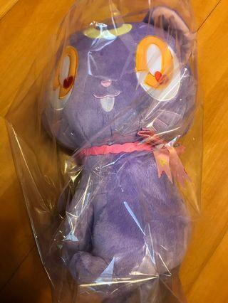 2019年最新美少女戰士貓毛公仔紫色日本景品做功精細及可愛,少量出品