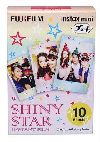Fujifilm instax mini 相紙 Shiny Star
