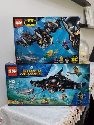 Lego DC Super Heroes Aquaman 76095 + 76116 MISB